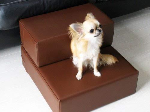 Hundetreppe aus Kunstleder