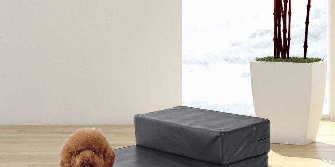 Pawhut Hundetreppe 2 in 1 aus Schaumstoff